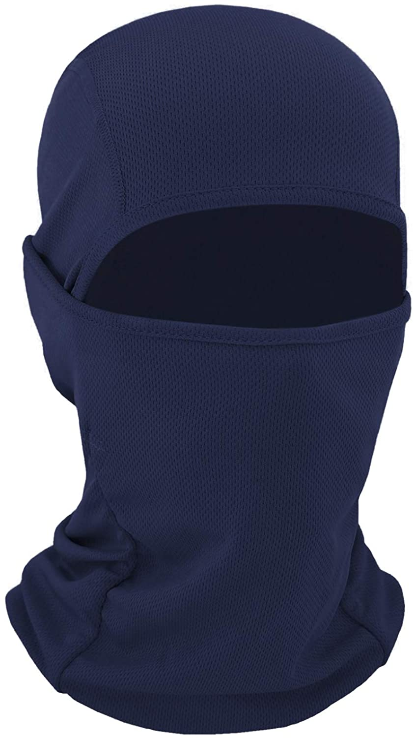 Plazenzon Balaclava Face Mask Men Women, Summer Hot Weather Balaclava Scarf Protection from UV, Dust Cycling Motorcycle Mask