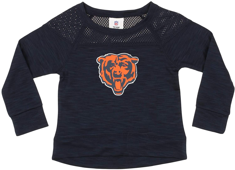 Outerstuff NFL Big Girls Youth Streaky Performance Sweatshirt Top, Team Options