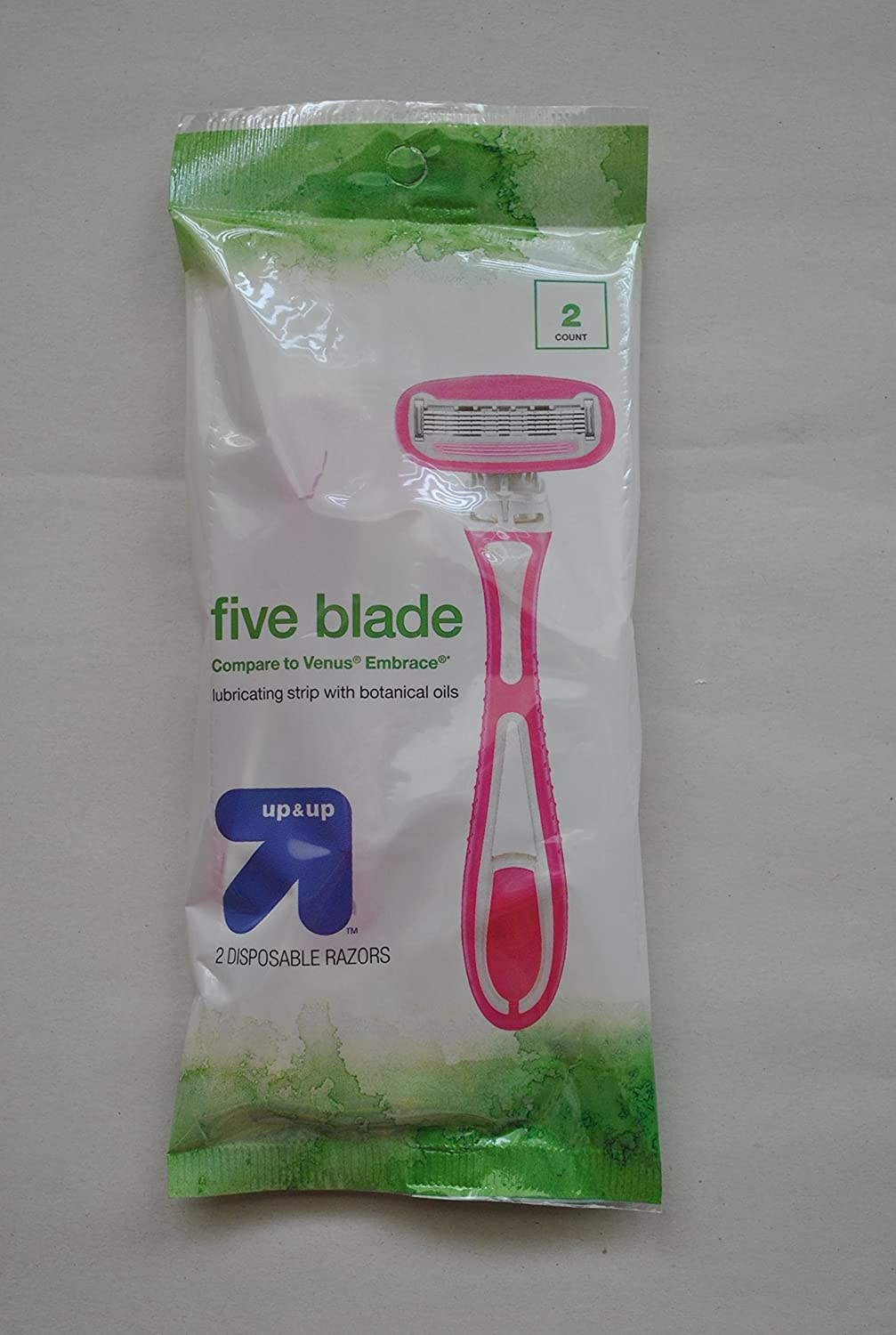 Up and Up Five Blade Disposible Razors - 2ct