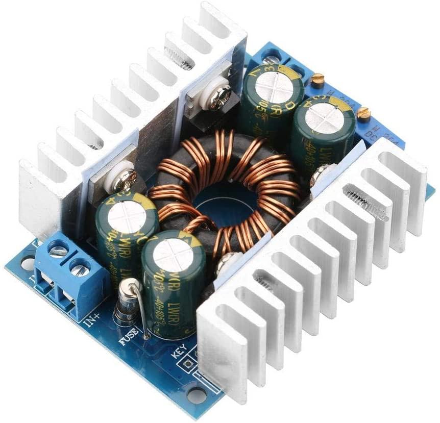 DC- DC Converter, DC5-30V to 1.25-30V Automatic Step UP/Down Converter Boost/Buck Voltage Regulator Module