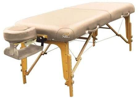 Vedalux Portable Massage Table Package by NRG - Folding, Lightweight Massage Therapy Table - Face Cradle with 3