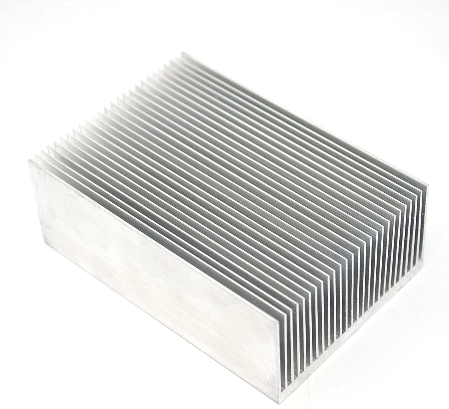 Befenybay 1pcs Aluminum Heat Sink Heatsink Module,Cooler Cooling for High Power Transistor Semiconductor Devices with 26 pcs fins 3.93 (L) x 2.71 (W) x 1.41 (H) inch/100mm(L) x 69mm(W) x 36mm(H)