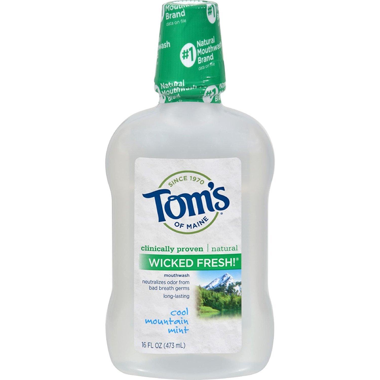 Toms Of Maine Mouthwash Wkdfrsh Mint Mn