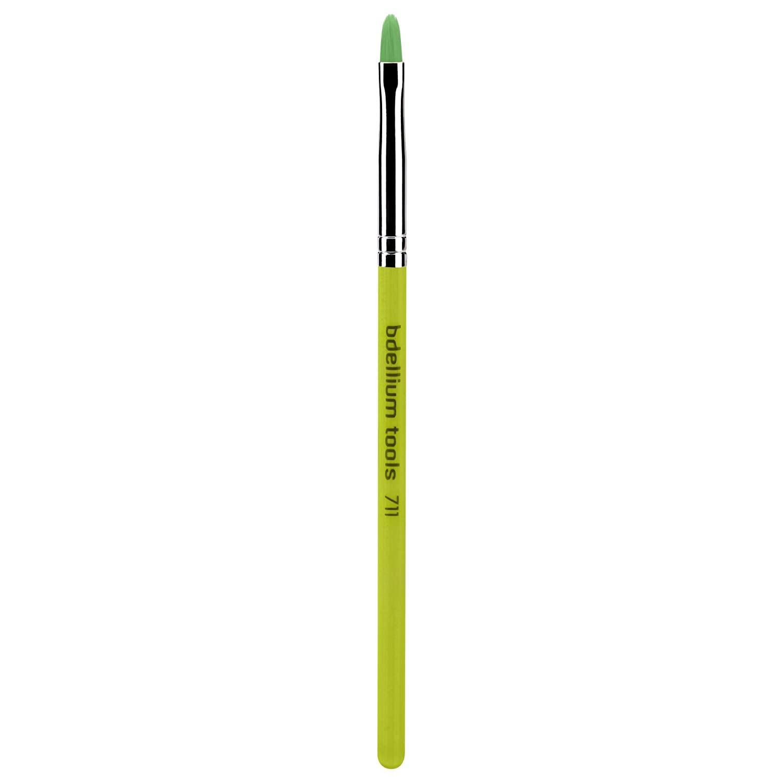 Bdellium Tools Professional Eco-Friendly Makeup Brush Green Bambu Series with Vegan Synthetic Bristles - Pointed Tip Liner 711