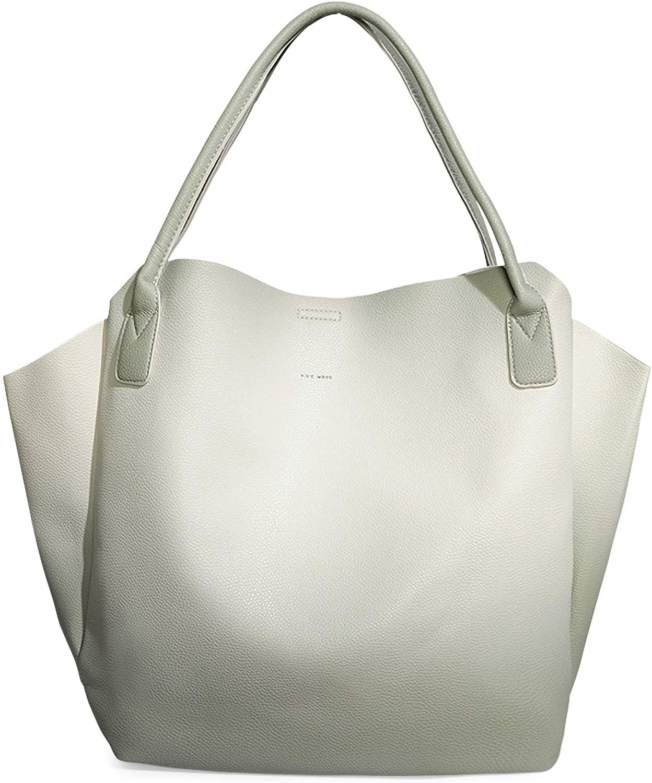 Rachel Small Lightweight Soft 20 x 13 Vegan Leather Tote Handbag …