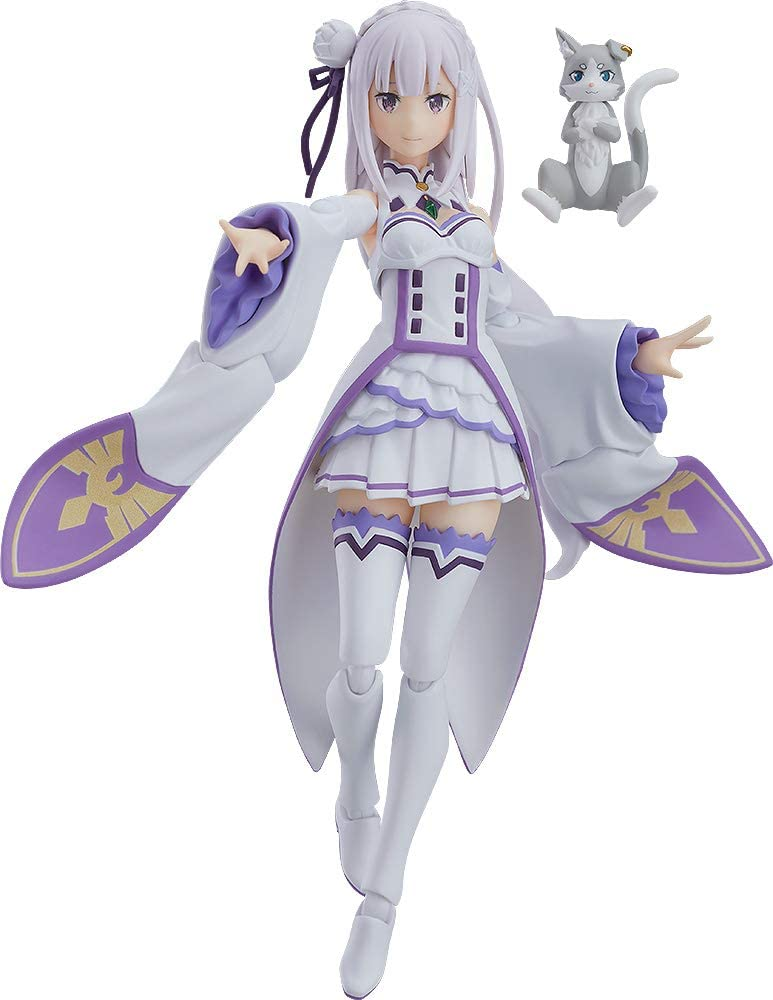 Max Factory Re: Zero Starting Life in Another World: Emilia Figma Action Figure, Multicolor