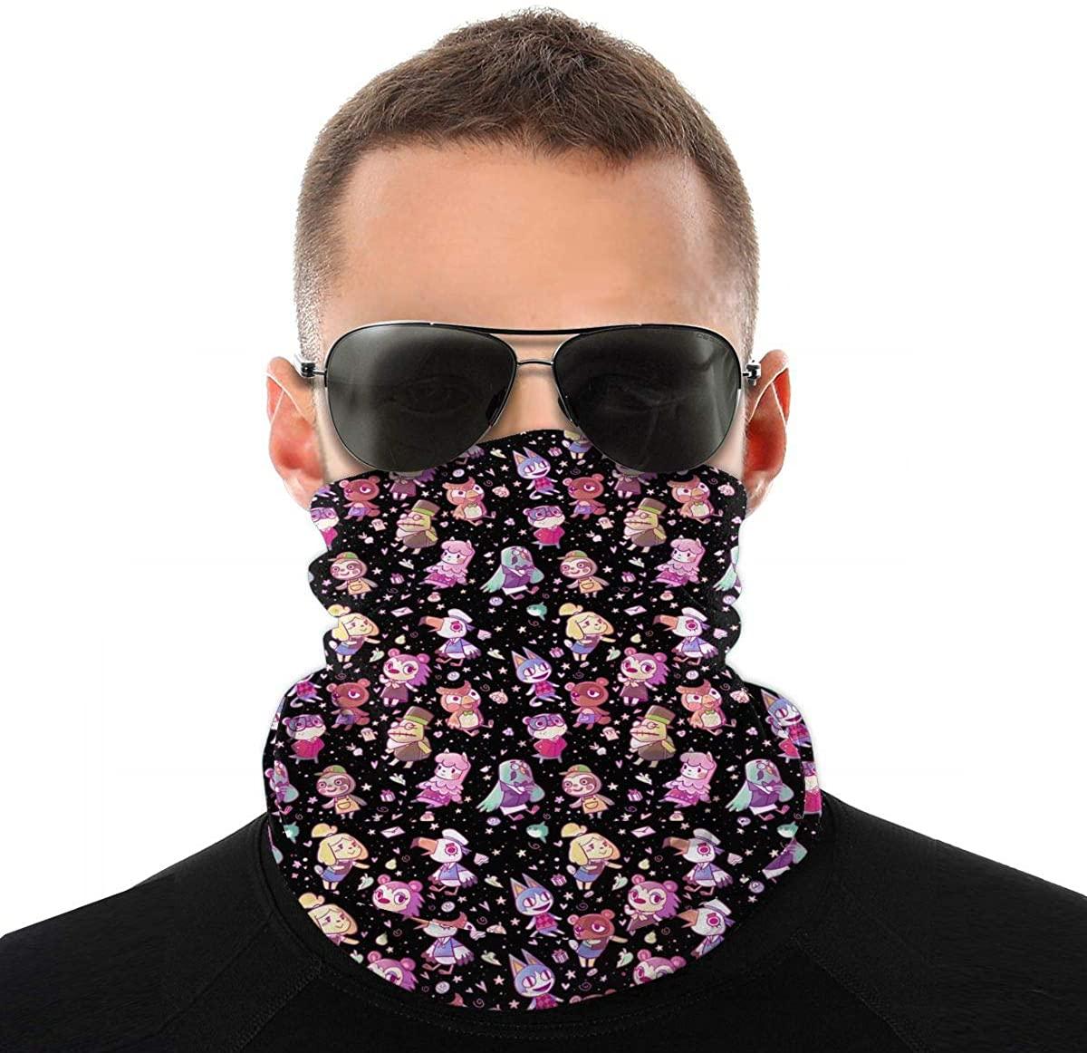 Mans Woman's Full Coverage Tube Seamless Scarf Bandana Neck Gaiter Head Mask Sunscreen UV Dust Protection for Running