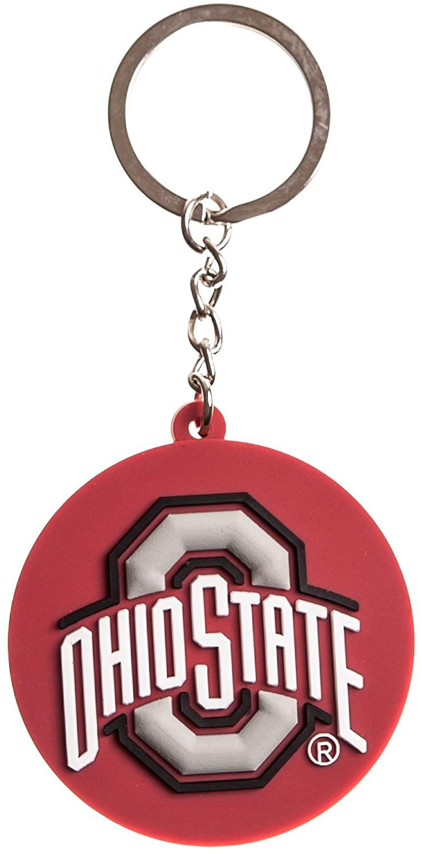 Collegiate Pulse Ohio State Buckeyes NCAA PVC Keychain