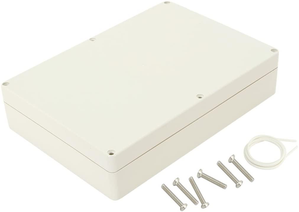 Awclub Waterproof Dustproof IP65 ABS Plastic Junction Box Universal Electric Project Enclosure Gray 10.4