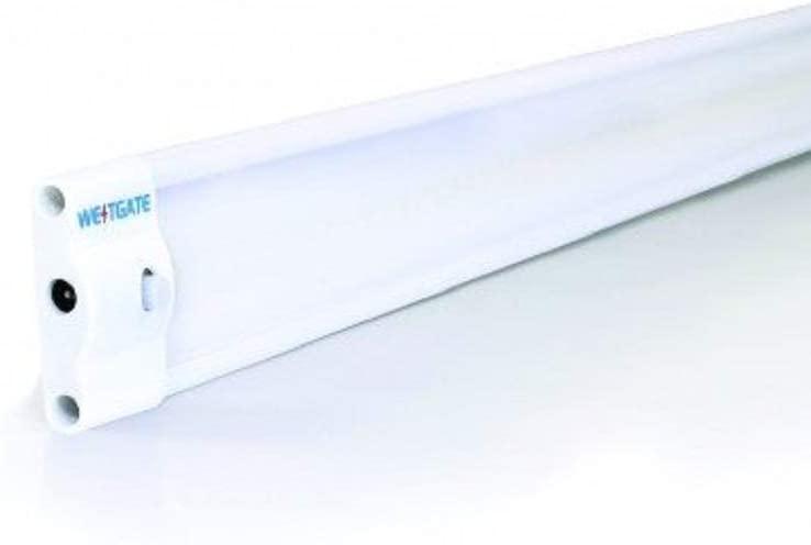Westgate Lighting LED Under Cabinet Lighting - Extruded Aluminum housing LED Lighting –12V Interior Application LED Light (5W 6000K Cool White)