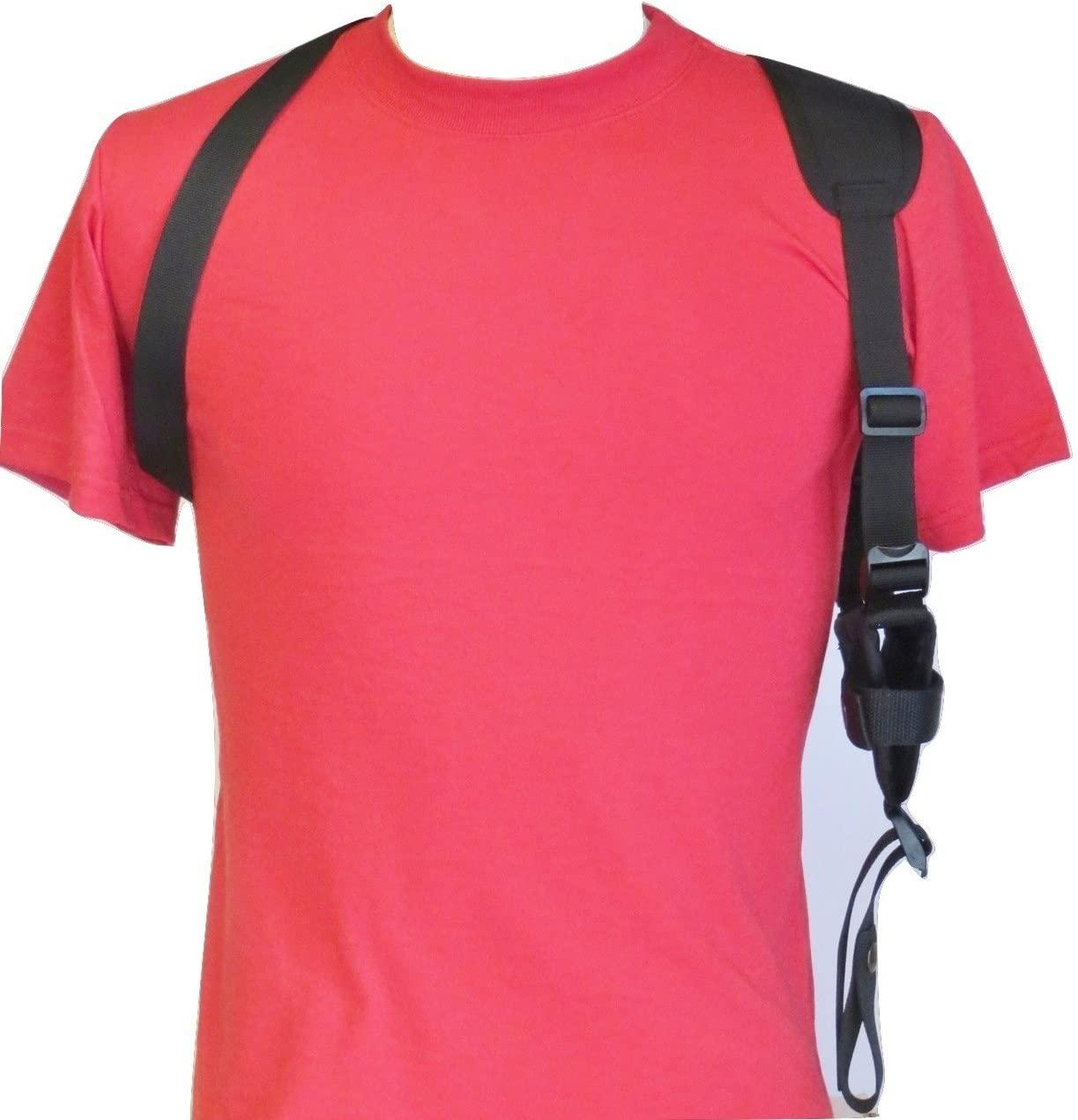 Horizontal Shoulder Holster for 2 1/2