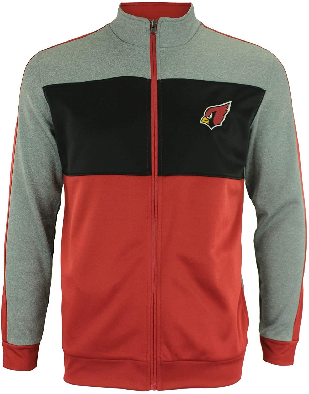 Outerstuff NFL Youth Boys (8-20) Performance Full Zip Stripe Jacket, Team Variation