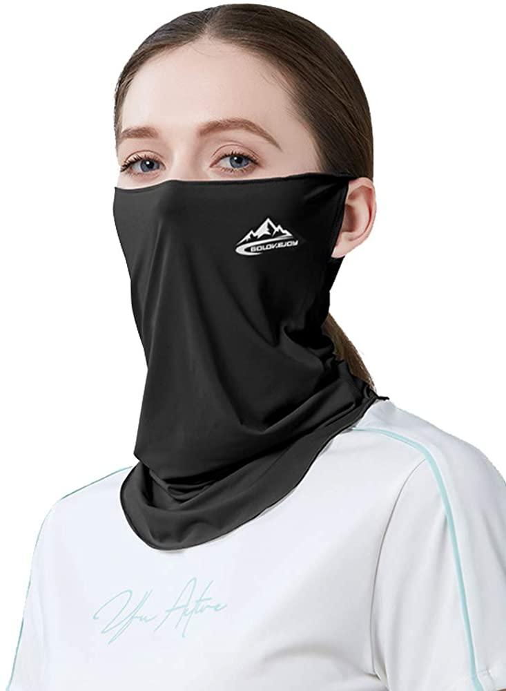 Xnuoyo 2 Pcs Protection Face Mask Reusable, Dust Balaclava Scarf Elastic