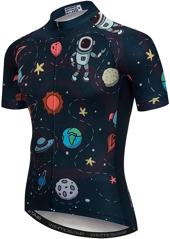 Cycling Jersey Mens Bike Jersey MTB Road Bicycle Clothing Summer Short Sleeve Pro Breathable Cycling Shirt Tops Jackets