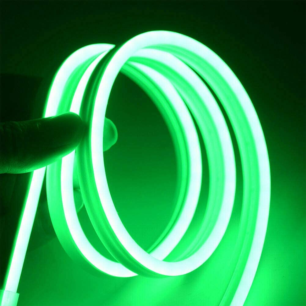 LianX DC 12V SMD2835 Flexible LED Strip Waterproof Neon Lights Silicone Tube 3.3ft Home Party Decor
