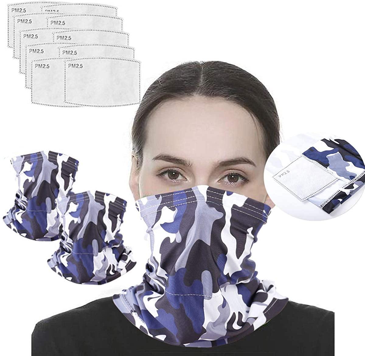 Neck Gaiter Balaclava Bandana Half Face Cover Headwear Face Cover For Men Women