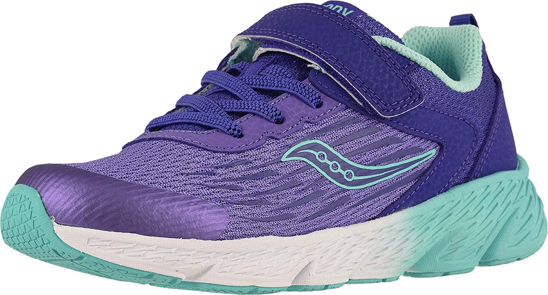 Saucony Kids' Wind a/C Sneaker