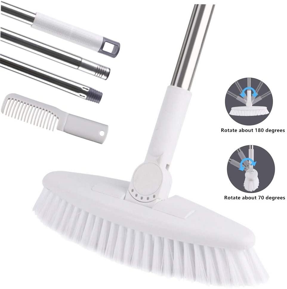 GeeRo Floor Scrub Brush with Long Handle -52