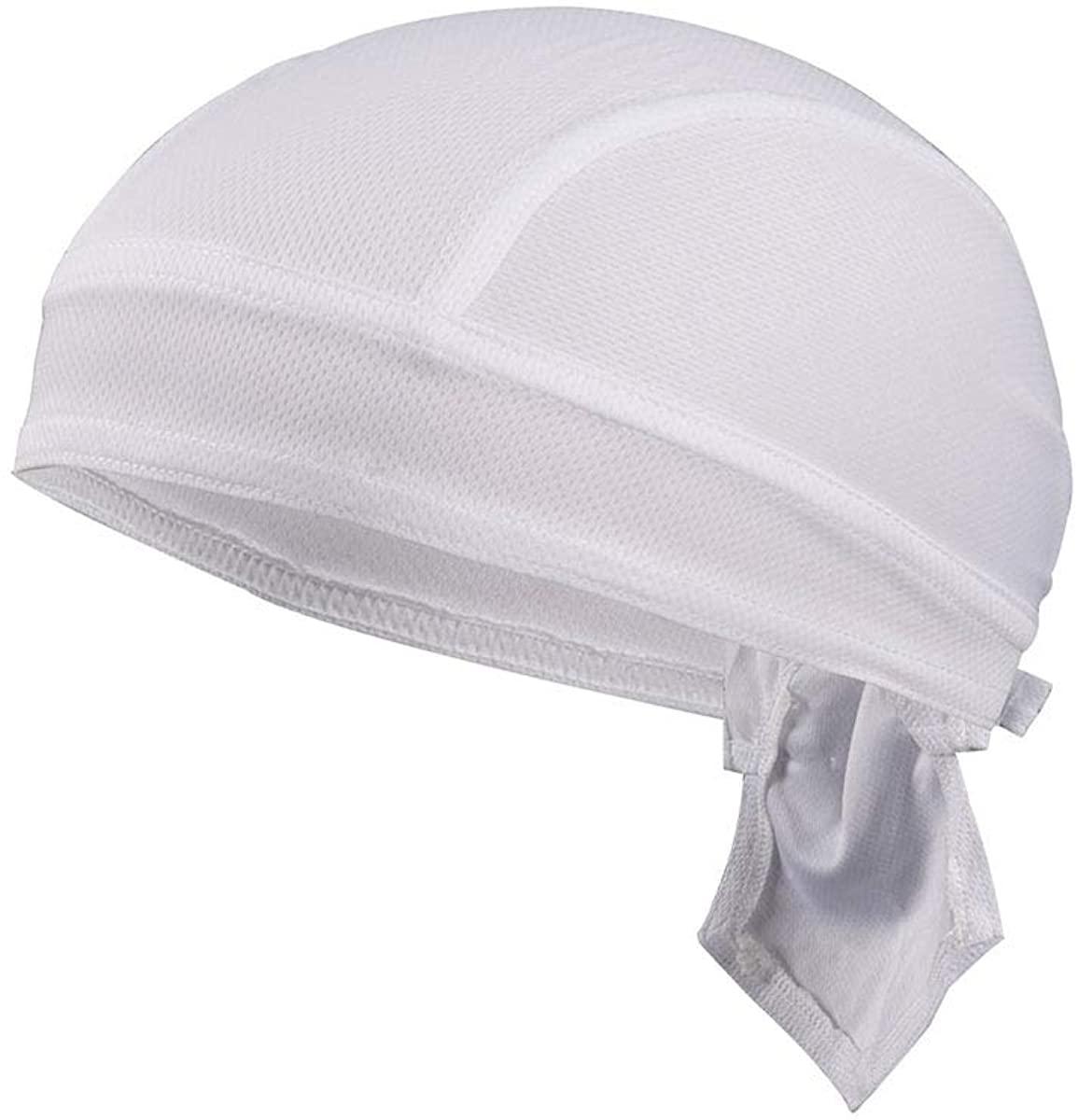 ba knife Beanie Skull Cap Sweat Wicking Quick Dry Adjustable Cycling Hat Wrap Rag Men Women