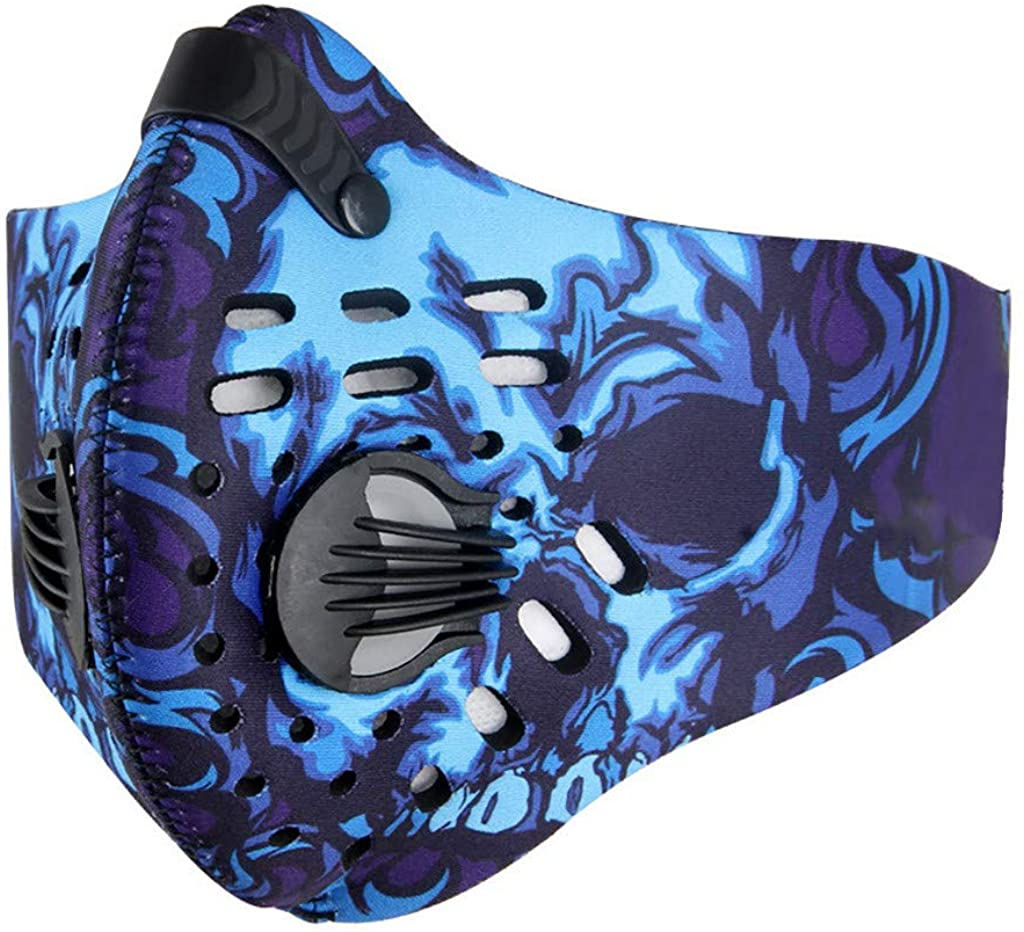 Heroky Face Màsc Sports Bandanas, Adults Safety Reusable & Washable Dust Mouth Protections for Cycling Camping Travel