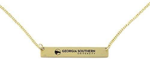Brass Bar Bracelet - Georgia Southern Eagles