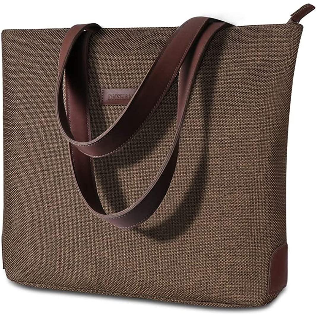 Womens Shoulder Bags Canvas Top-Handle Purses Casual Vintage Tote Handbags Shopping Bags