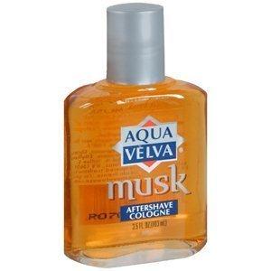 Special Pack of 5 AQUA VELVA AFTER SHAVE MUSK 3.5 oz