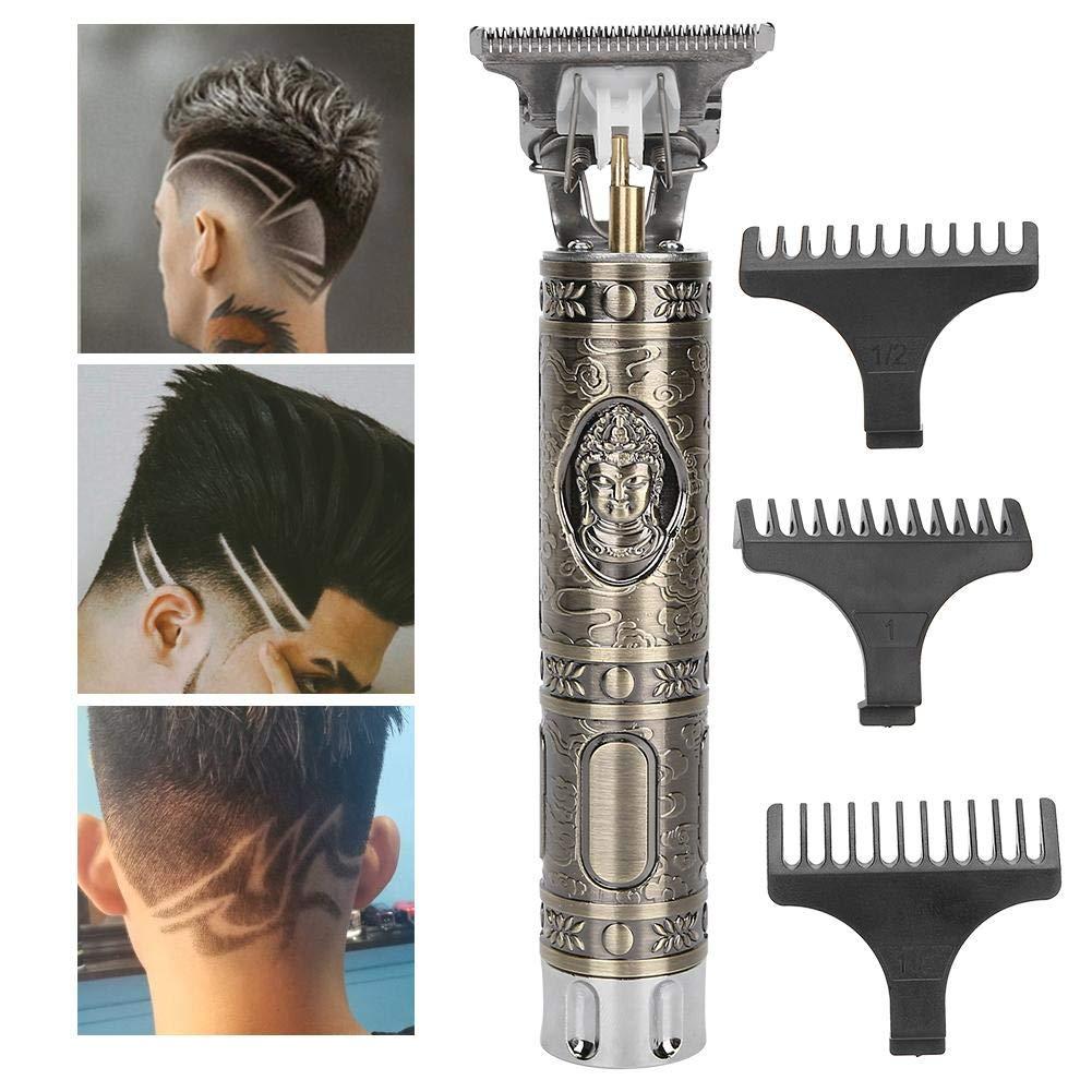 Electric hair trimmer, hair clipper, hair trimmer beard trimmer professional beard trimmer shaver portable hair clipper styling tool hair trimmer beard trimmer(USB(110))