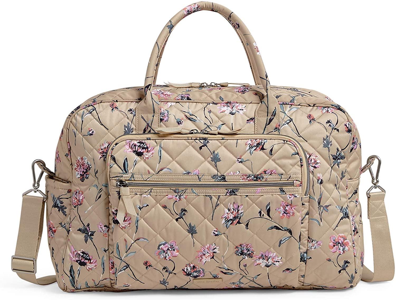 Vera Bradley Women's Performance Twill Weekender Travel Bag