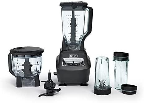 Ninja Mega Kitchen System Blender and Food Processor with Nutri Ninja Cups - BL770 (Renewed)