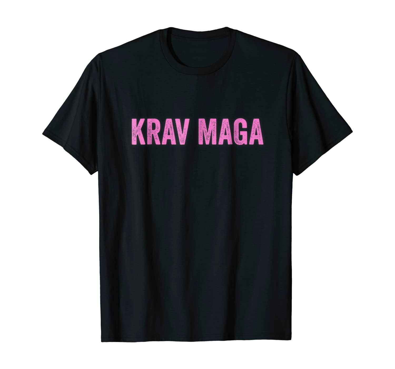 Krav Maga Girl Pink - IDF Israeli Army Self Defense T-Shirt