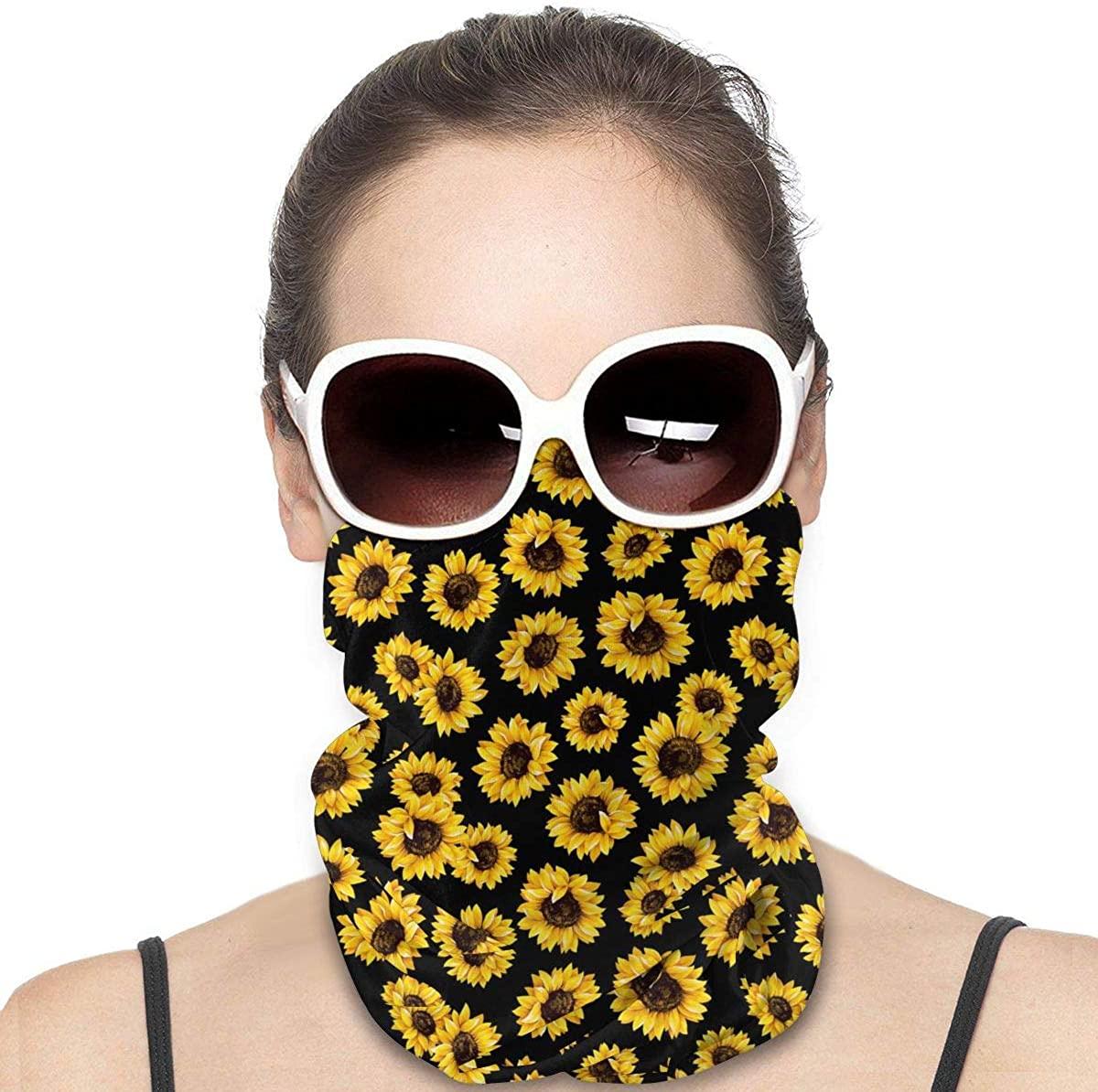 Mermaid Tail Galaxy Seamless Bandanas Face Mask Tube Headwear Dust Neck Gaiter Cover Motorcycle UV Protection Scarf Balaclava