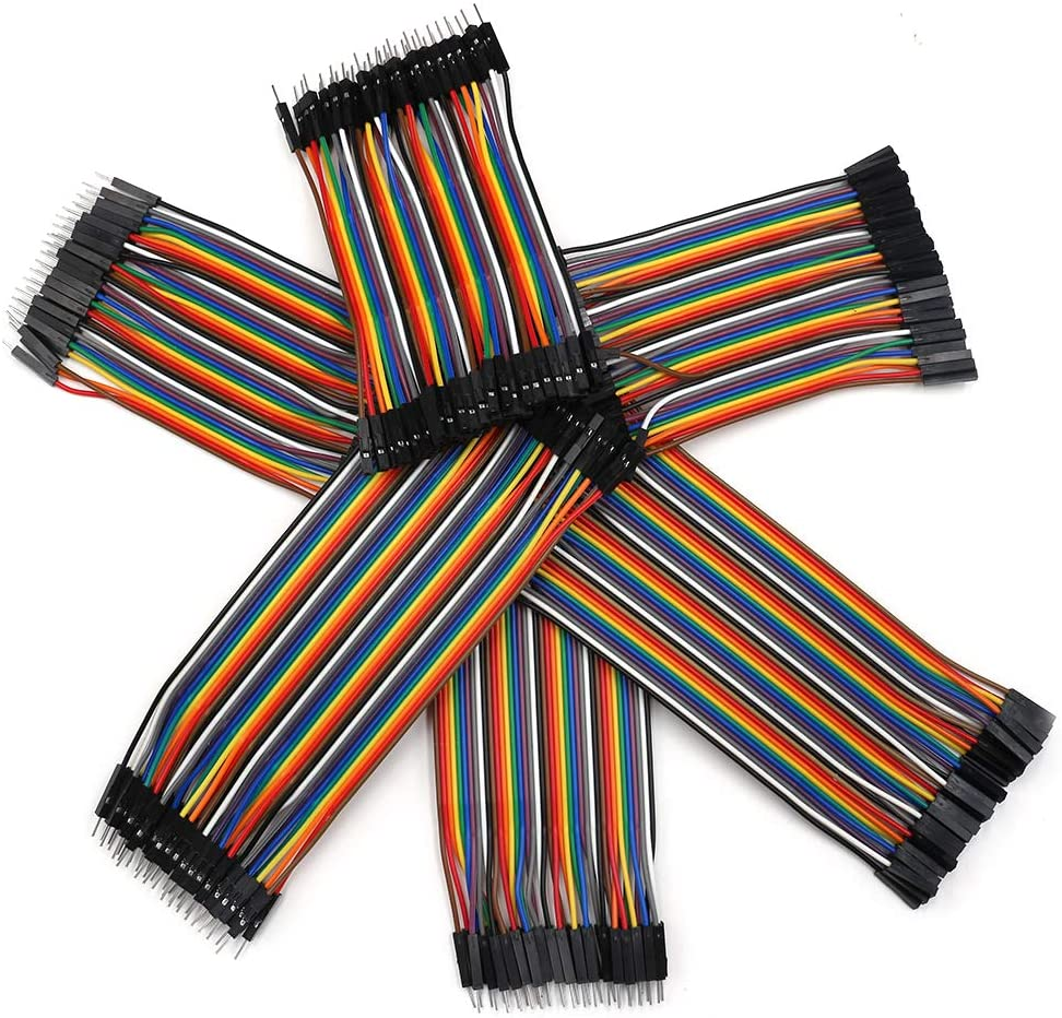 40 Pin 10cm 15cm Female to Female Male to Female Male to Male Dupont Breadboard Jumper Wires Cable Kit