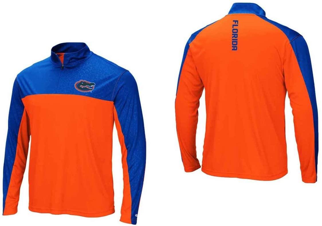 Florida Gators Adult Luge 1/4 Zip Windshirt - Team Color