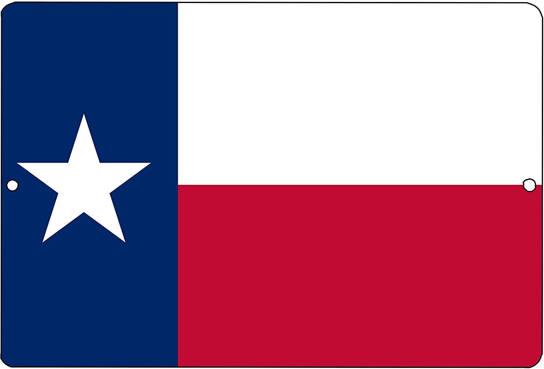 Rogue River Tactical Texas State Flag Metal Tin Sign Wall Decor Man Cave Bar Texans Lone Star