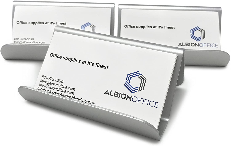 Aluminum Business Card Holder (3pack)