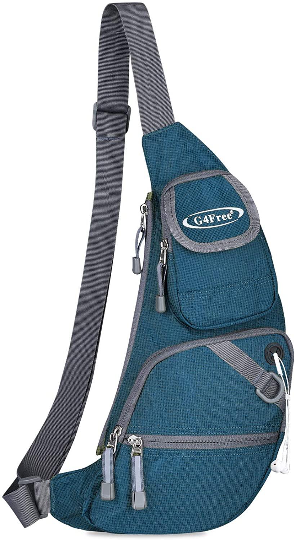 G4Free Sling Bags Crossbody Shoulder Backpack Fanny Pack Fashionable Chest Daypack for Men Women