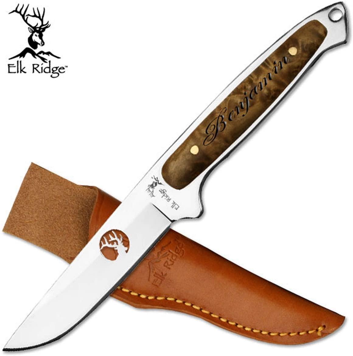 Elk Ridge Free Engraving - Quality Pocket Knife (ER-048)