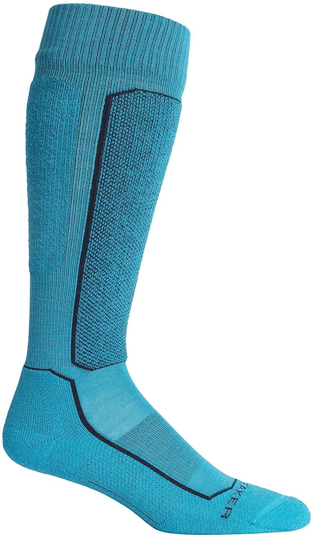 Icebreaker Merino Women's Ski+ Light OTC Socks, Medium, Arctic Teal