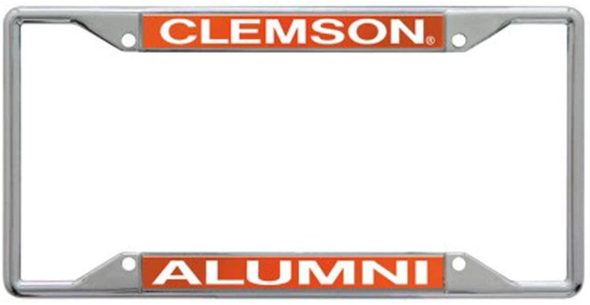 WinCraft Clemson University Alumni Premium License Plate Frame, Chrome
