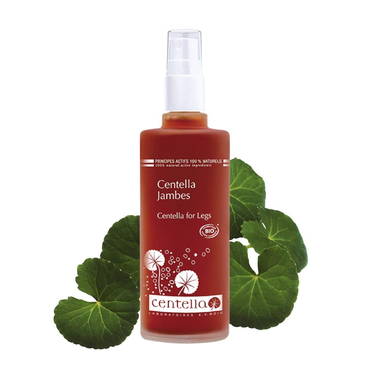 Centella for Legs   ECOCERT Organic Certified Leg Serum   65% Centella Asiatica for Leg Tightening, Body Relaxation & Circulation, Sports & High Heel Relaxing Spray Leg Tightening Body   125ml