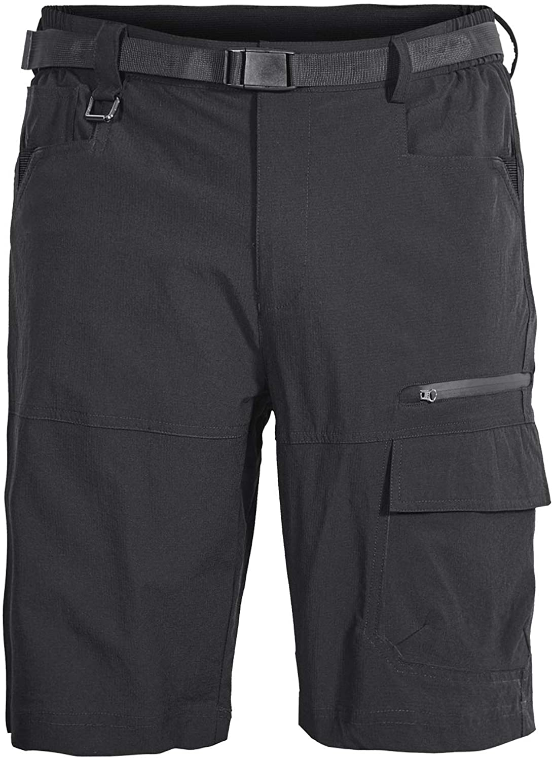 Mr.Stream Men's Outdoor Climbing Nylon Camping Quick Drying Casual Multi Pocket Stretch Cargo Shorts