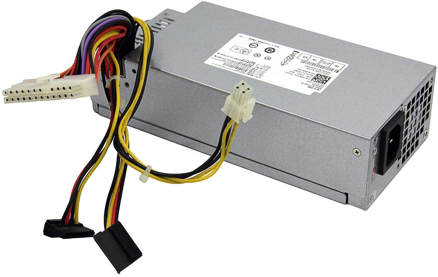 220W L220AS-00 CPB09-D220R Power Supply for Dell Inspiron 3647 660s Vostro 270 Gateway SX2300 Aspire X1200 X1300 Veriton X2110 X2610 eMachines L1200 L1210 Series,P/N: R82HS R82H5 R5RV4