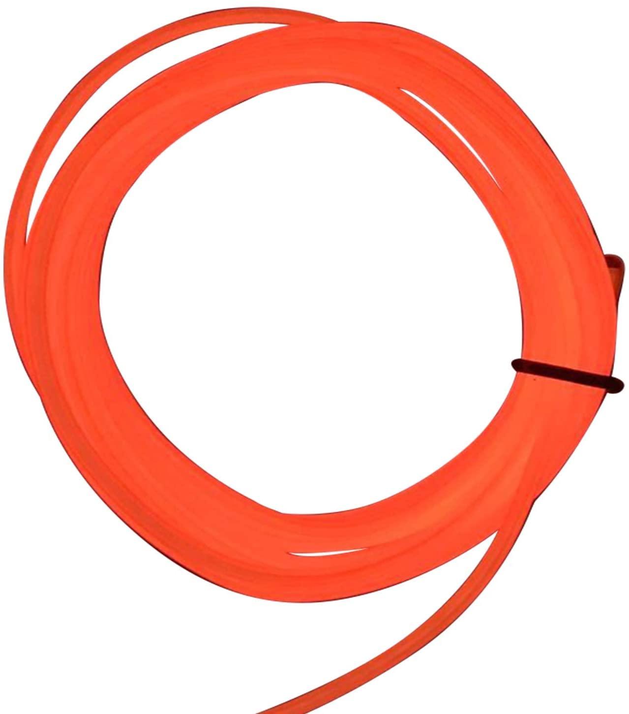 M.best 15FT Neon Light El Wire Orange Battery Powered