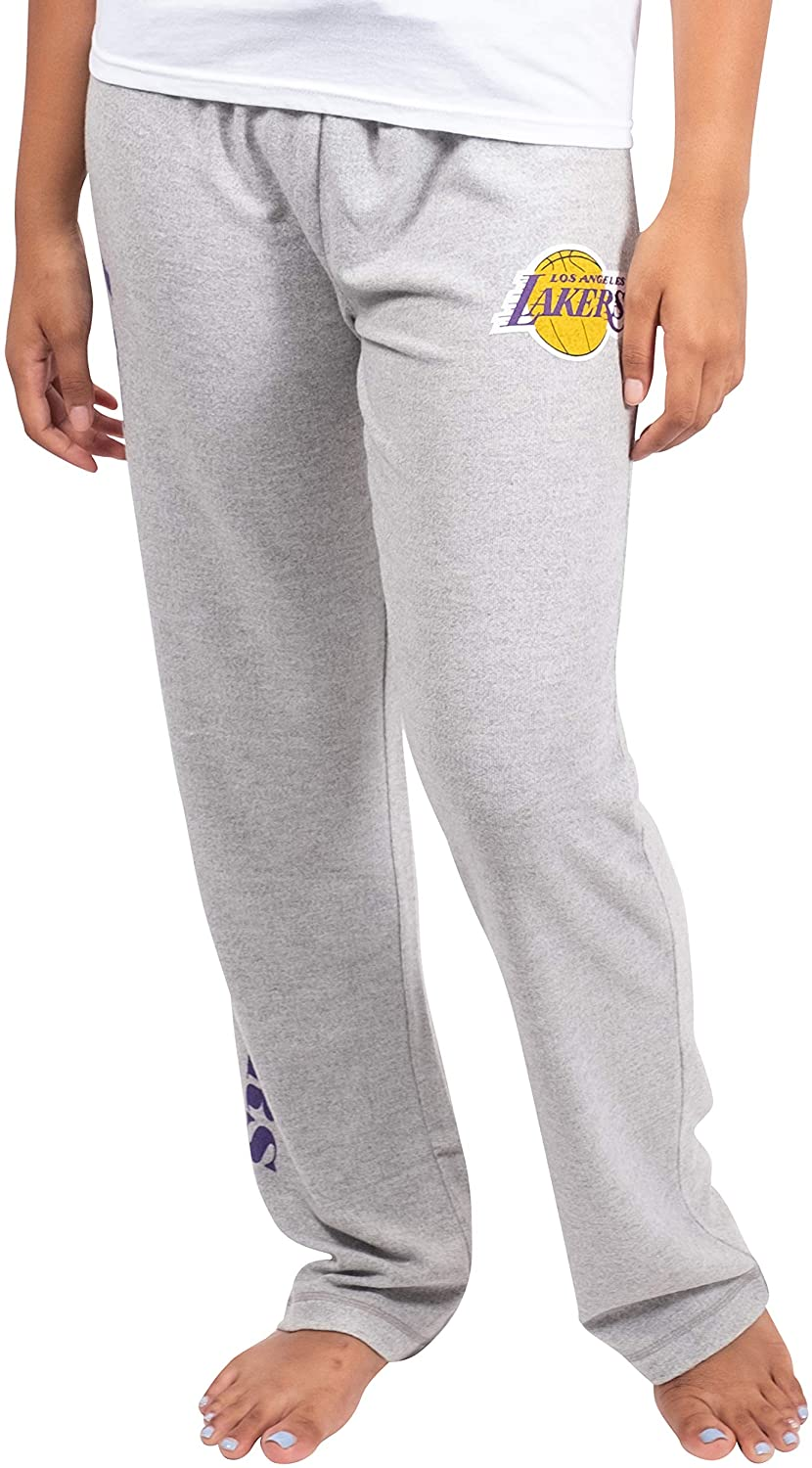 Ultra Game NBA Women's Sleepwear Super Soft Hacci Pajama Loungewear Pants