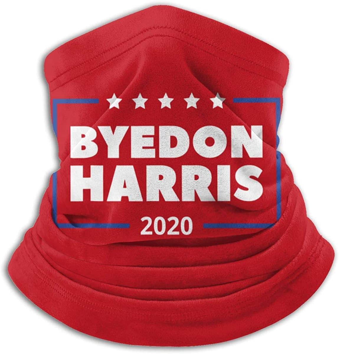 HAFFER Biden Harris Face Mask Custom Neck Gaiter Scarf Half Buff Face Balaclava Washable Cute Funny Bandana