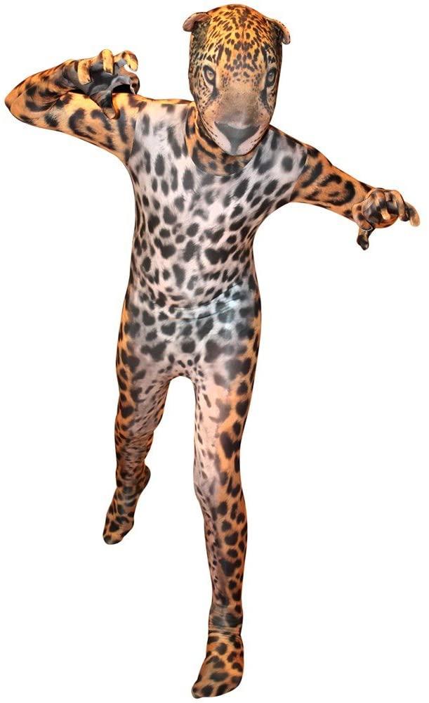 Morphsuits Jaguar Kids Animal Planet Costume - Size Large 4-46 (120cm-137cm)
