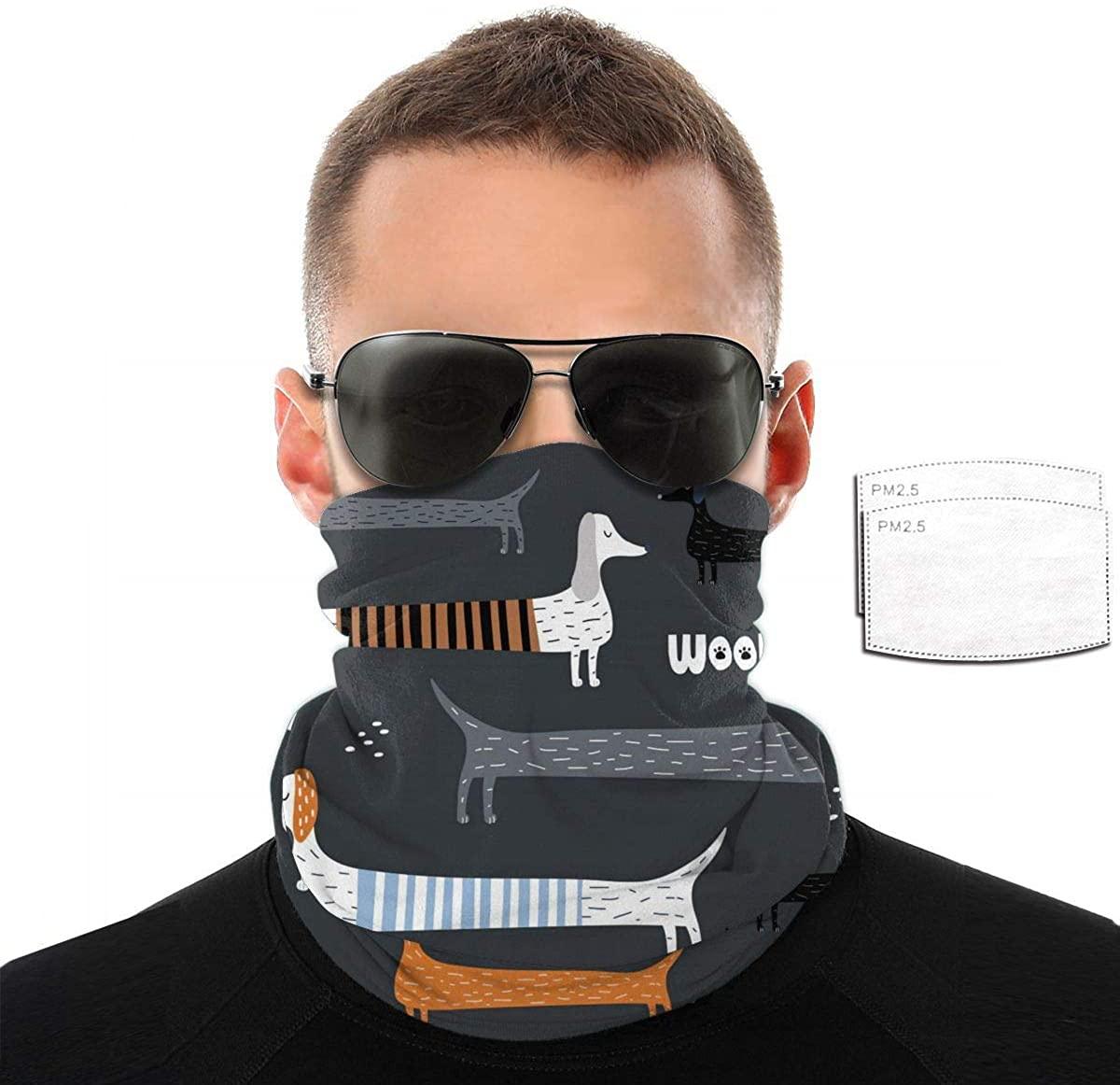 Variety Face Towel Earloop Pm2.5 Filter Print Dust Mask Bandana Half Bavaclava Headband Shield Scarf Pattern
