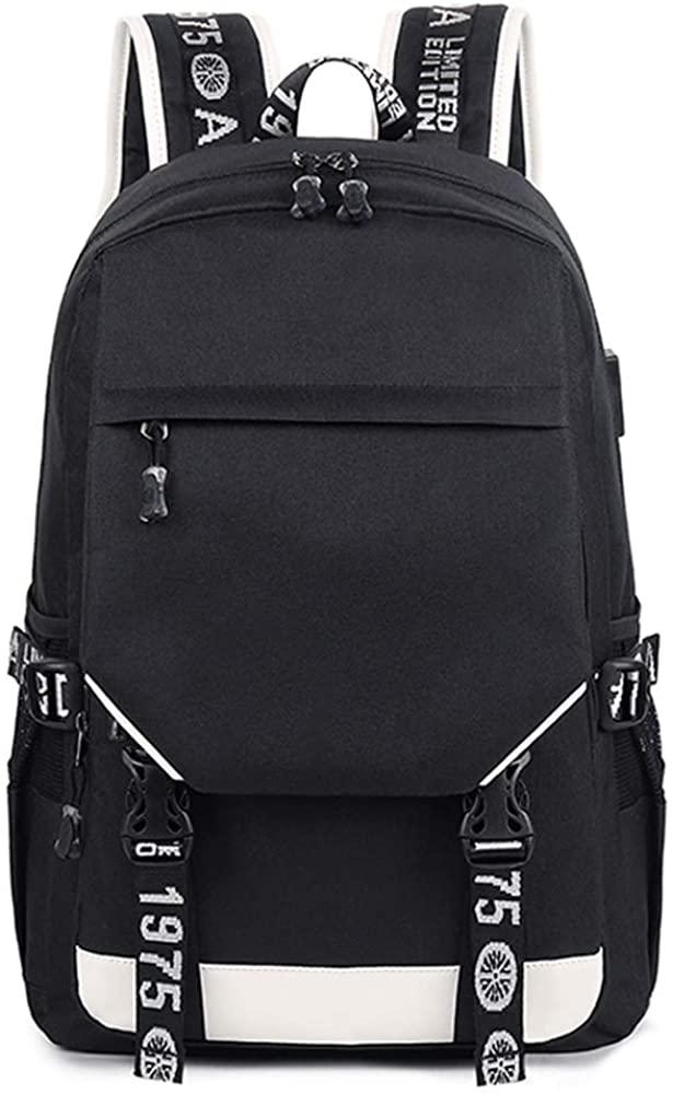 LOKIH Backpack Fashion Travel Rucksack College School Bookbag Water Repellent Durable for Work