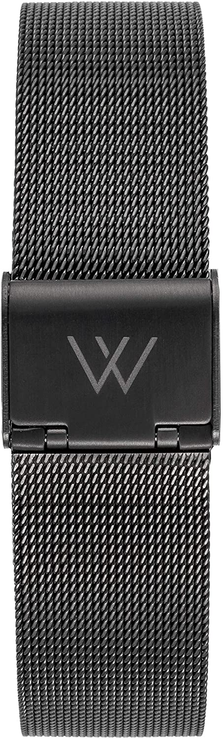 WRISTOLOGY Metal Mesh Watch Bands for Men - Women Quick Release Milanese Strap  Choose Size and Color Rose, Gold, Black, Silver 16mm, 18mm, 20mm, 22mm